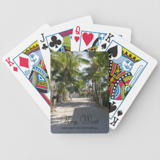 Key West Streets Playing Cards
