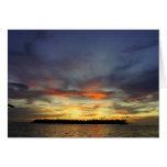 Key West Sunset Card