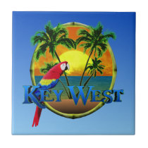 Key West Sunset Ceramic Tile