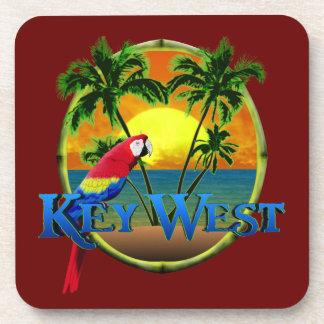 Key West Sunset Beverage Coasters
