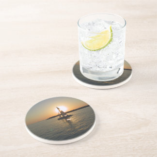 Key West Sunset Drink Coaster
