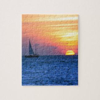 Key West Sunset Jigsaw Puzzle