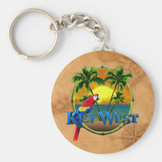 Key West Sunset Keychain