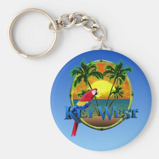 Key West Sunset Keychain