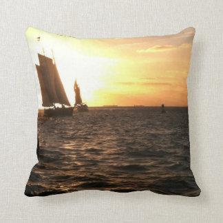 Key West Sunset photo Throw Pillow