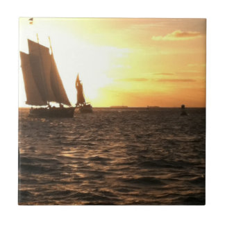 Key West Sunset Photo Tile