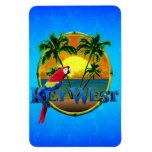 Key West Sunset Rectangular Photo Magnet