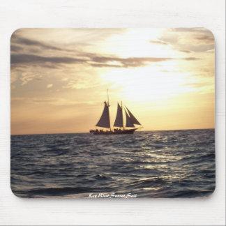 Key West Sunset Sail Mouse Pad
