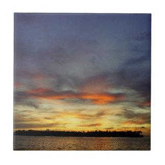 Key West Sunset Tile