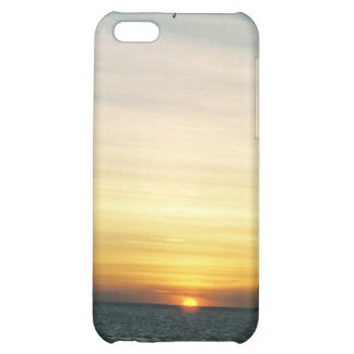 Key West Sunset w helicopter Speck Case Cover For iPhone 5C