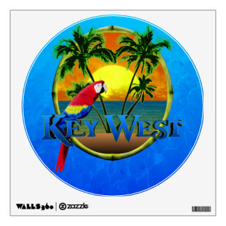 Key West Sunset Wall Sticker