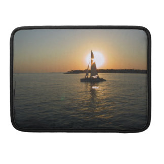 Key West Sunset with Your Name Sleeve For MacBook Pro