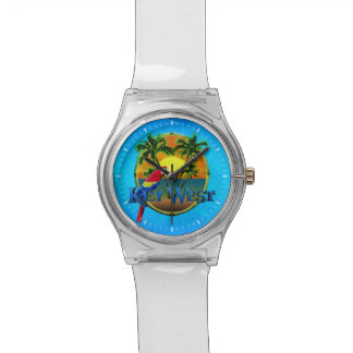 Key West Sunset Wrist Watches