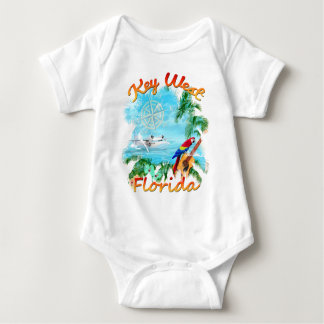 Key West Tropical Rock Baby Bodysuit