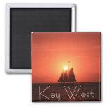 Key West, velero en el imán de la puesta del sol