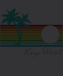 Key West - Vintage Distressed Design Tee Shirts