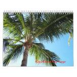 Key West y dominante largo Calendario