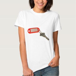 Key with key tag t shirt