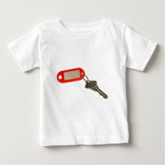 Key with key tag t-shirt
