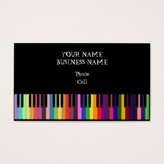 Keybaord - Music Business Card