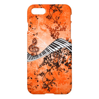 Keyboard and clef iPhone 7 case