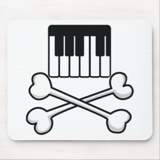 Keyboard and Crossbones Mousepads