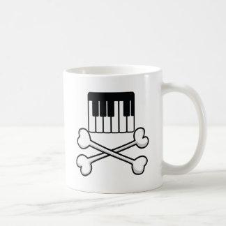 Keyboard and Crossbones Mugs