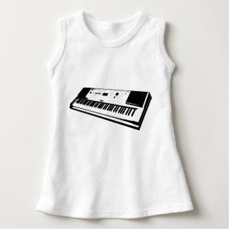Keyboard Baby Sleeveless Dress