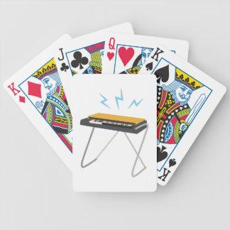 Keyboard Bicycle Playing Cards