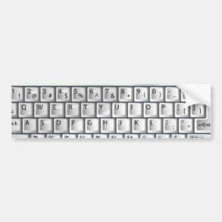 Keyboard Bumper Sticker