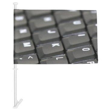 Professional Business Keyboard Car Flag