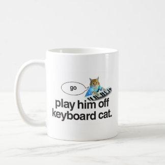 keyboard cat go mug
