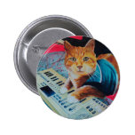 Keyboard Cat Painting Gear Button