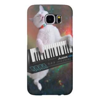 Keyboard cat - space cat - funny cats - galaxy cat samsung galaxy s6 case