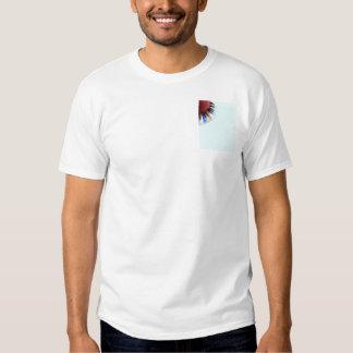 Keyboard Chaos Bright on Blue T-Shirt