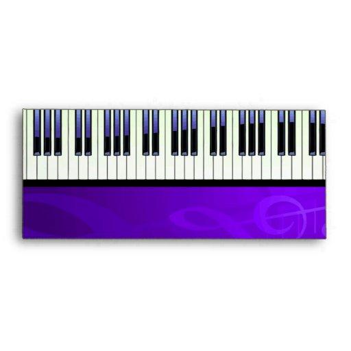 Keyboard Couture Set Envelopes