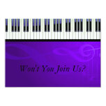 Keyboard Couture Set Personalized Invitation