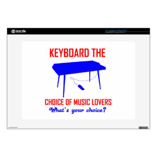 "Keyboard designs decals for 15"" laptops"