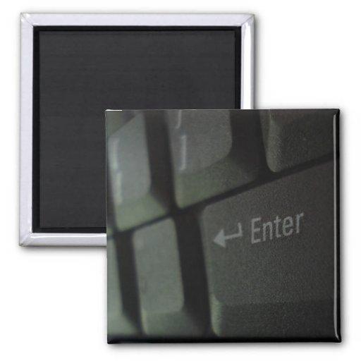 Keyboard Fridge Magnet
