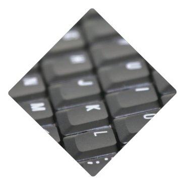 Professional Business Keyboard Graduation Cap Topper