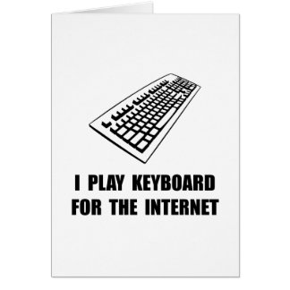 Keyboard Internet Card