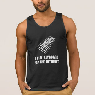 Keyboard Internet Tank Top