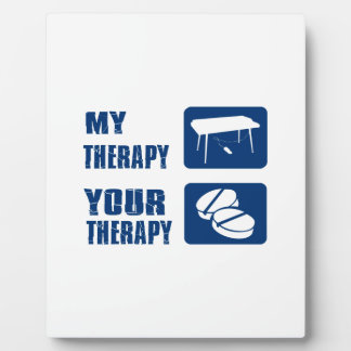 keyboard is my therapy photo plaque