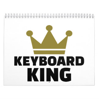 Keyboard King Calendar