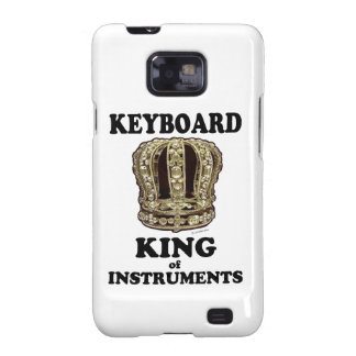 Keyboard King of Instruments Galaxy SII Cases