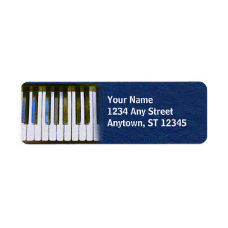 KEYBOARD CUSTOM RETURN ADDRESS LABEL