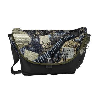 Keyboard Landscape Courier Bag