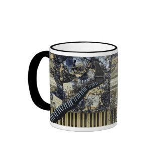 Keyboard Landscape Coffee Mug