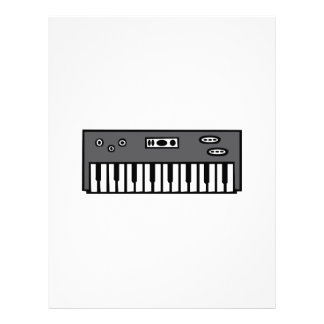 Keyboard Letterhead