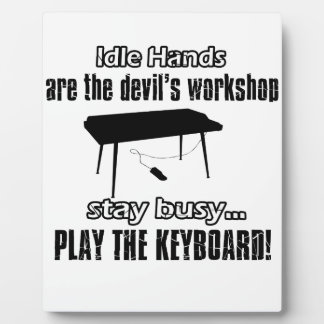 keyboard Music Designs Plaques